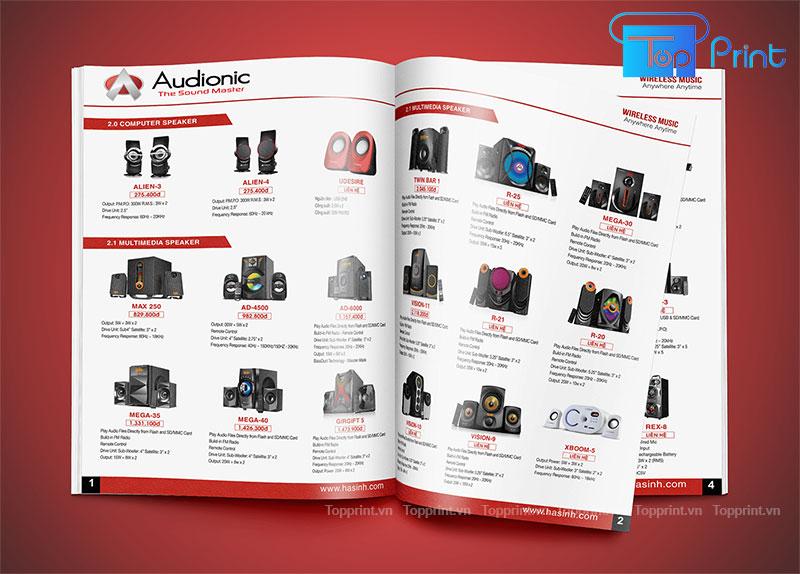 mẫu catalogue mảng công nghệ