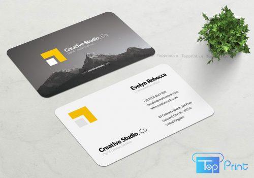 báo giá in card visit số lượng ít