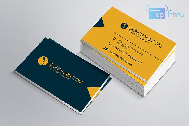mẫu card visit giám đốc đẹp
