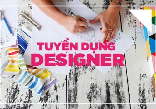 tuyển nhân viên thiết kế