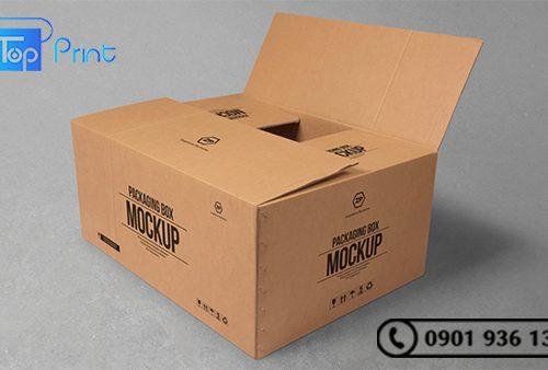 xưởng in offset thùng carton