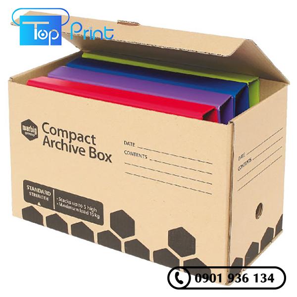 in thùng carton số lượng ít tại hcm