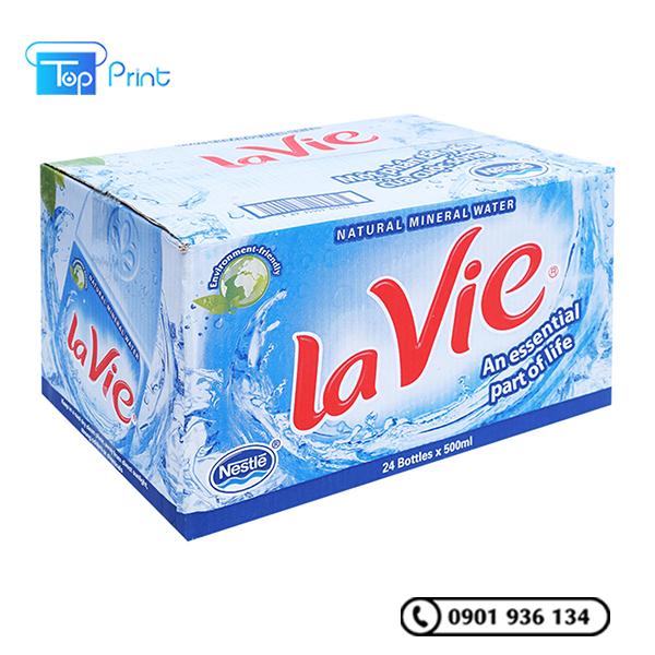 in thùng giấy đựng nước giải khát