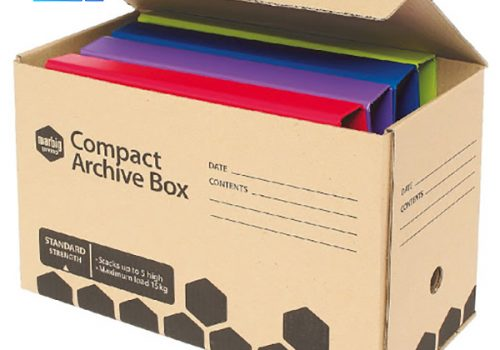 in thùng carton hình chữ nhật